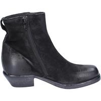 Schoenen Dames Enkellaarzen Moma Bottines BJ652 Noir