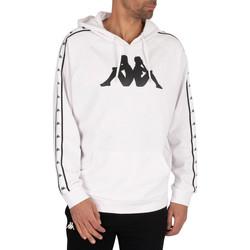 Textiel Heren Sweaters / Sweatshirts Kappa  Wit