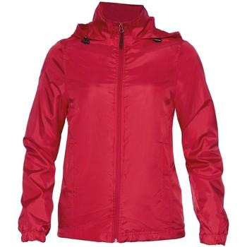 Textiel Dames Jacks / Blazers Gildan WR800L Rood