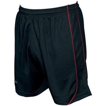 Textiel Korte broeken / Bermuda's Precision  Zwart/Rood