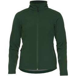 Textiel Dames Jacks / Blazers Gildan GH115 Bosgroen