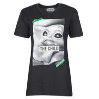 Textiel T-shirts korte mouwen Yurban OUFIMM Zwart