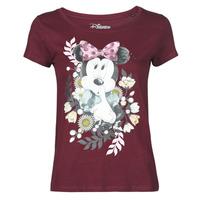 Textiel Dames T-shirts korte mouwen Yurban OHJAVE Bordeaux