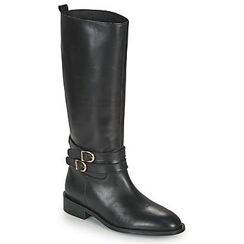 Schoenen Dames Hoge laarzen JB Martin AMUSEE Zwart
