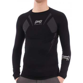 Textiel Heren T-shirts & Polo's Hungaria  Zwart