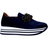 Schoenen Dames Instappers Grace Shoes MAR015 Blauw