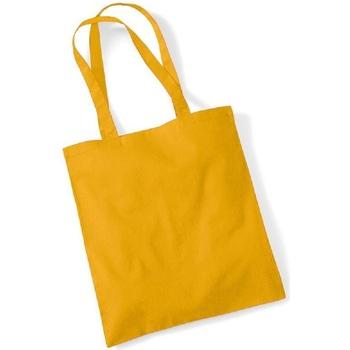 Tassen Tote tassen / Boodschappentassen Westford Mill W101 Mosterd