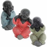 Wonen Beeldjes Signes Grimalt Boeddha Niet Zien / Horen / Spreken In September 3U Multicolor