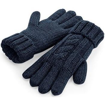 Accessoires Handschoenen Beechfield BC497 Marine