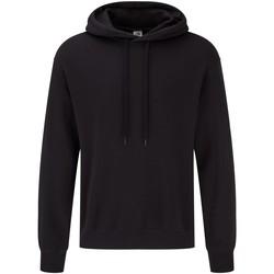 Textiel Sweaters / Sweatshirts Fruit Of The Loom 62168 Zwart