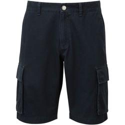 Textiel Heren Korte broeken / Bermuda's Asquith & Fox AQ054 Marine