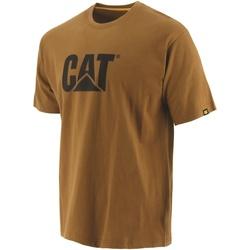Textiel Heren T-shirts korte mouwen Caterpillar  Brons