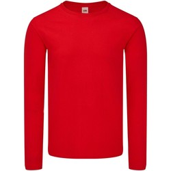 Textiel Heren T-shirts met lange mouwen Fruit Of The Loom SS433 Grijze Heide