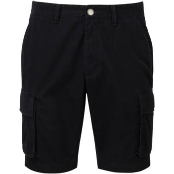 Textiel Heren Korte broeken / Bermuda's Asquith & Fox AQ054 Zwart