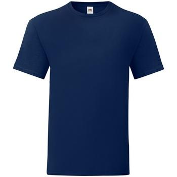 Textiel Heren T-shirts korte mouwen Fruit Of The Loom 61430 Marine
