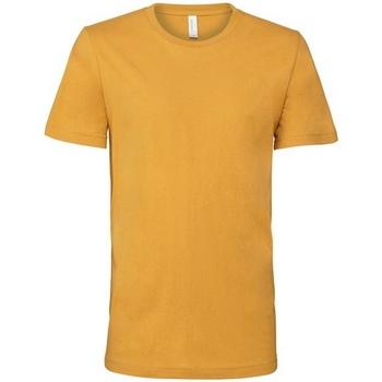 Textiel T-shirts korte mouwen Bella + Canvas Jersey Mosterd Geel