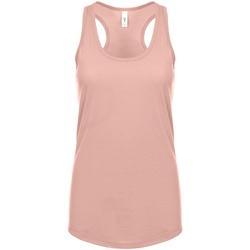 Textiel Dames Mouwloze tops Next Level NX1533 Woestijn Roze