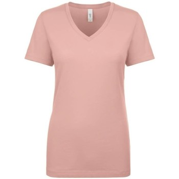 Textiel Dames T-shirts korte mouwen Next Level NX1540 Woestijn Roze
