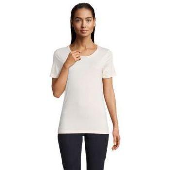 Textiel Dames T-shirts korte mouwen Sols LUCAS WOME Rosa