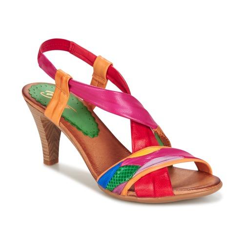 Schoenen Dames Sandalen / Open schoenen Betty London POULOI Multikleuren