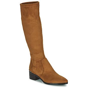 Schoenen Dames Hoge laarzen JB Martin JOLIE Brown
