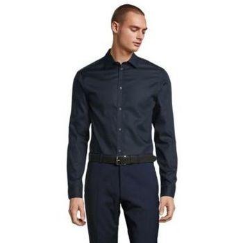 Textiel Heren Overhemden lange mouwen Sols BLAISE MEN Negro noche