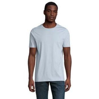 Textiel Heren T-shirts korte mouwen Sols LUCAS MEN Azul claro
