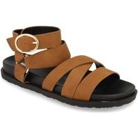 Schoenen Dames Sandalen / Open schoenen Buonarotti 1AF-1135 Camel