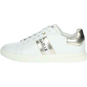 Schoenen Dames Lage sneakers GaËlle Paris G-622 White/Gold