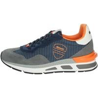 Schoenen Heren Lage sneakers Blauer HILOXL02 Grey/Blue