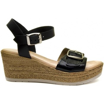 Schoenen Dames Sandalen / Open schoenen Purapiel 70161 BLACK