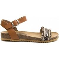 Schoenen Dames Sandalen / Open schoenen Purapiel 70182 BROWN