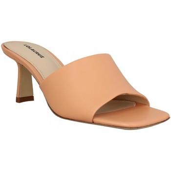 Schoenen Dames Leren slippers Lola Cruz 136668 Orange