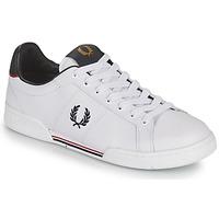 Schoenen Heren Lage sneakers Fred Perry B722 Wit