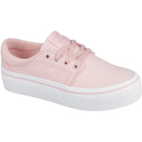 Schoenen Dames Sneakers DC Shoes Trase Platform Tx Roze