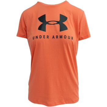Textiel Dames T-shirts korte mouwen Under Armour Graphic Sportstyle Classic crew W Roze