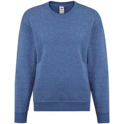 Textiel Meisjes Sweaters / Sweatshirts Fruit Of The Loom SS9B Heather Royaal