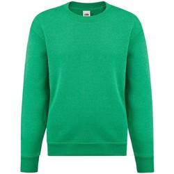 Textiel Meisjes Sweaters / Sweatshirts Fruit Of The Loom SS9B Heather Groen