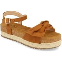 Schoenen Dames Sandalen / Open schoenen Benini 20336 Camel