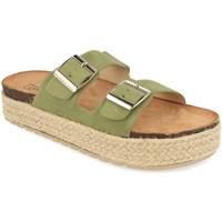 Schoenen Dames Leren slippers Benini 21302 Verde