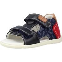 Schoenen Jongens Sandalen / Open schoenen Garvalin 212603 Blauw