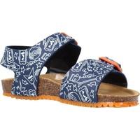 Schoenen Jongens Sandalen / Open schoenen Garvalin 212661 Blauw