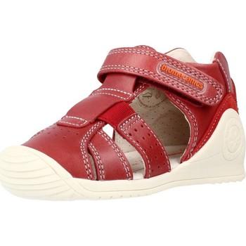 Schoenen Jongens Sandalen / Open schoenen Biomecanics 212134 Rood