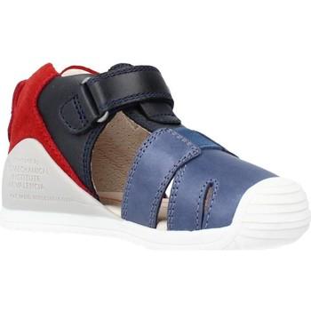 Schoenen Jongens Sandalen / Open schoenen Biomecanics 212136 Blauw