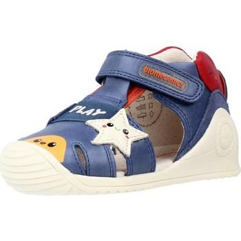 Schoenen Jongens Sandalen / Open schoenen Biomecanics 212140 Blauw
