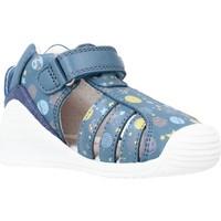 Schoenen Jongens Sandalen / Open schoenen Biomecanics 212142 Blauw