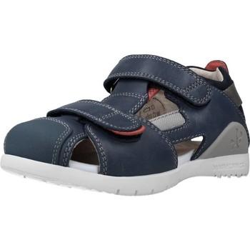 Schoenen Jongens Sandalen / Open schoenen Biomecanics 212183 Blauw