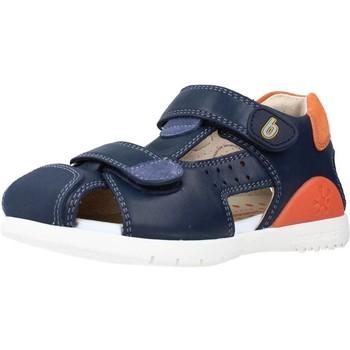 Schoenen Jongens Sandalen / Open schoenen Biomecanics 212184 Blauw