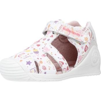 Schoenen Meisjes Sandalen / Open schoenen Biomecanics 212107 Wit