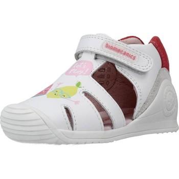 Schoenen Meisjes Sandalen / Open schoenen Biomecanics 212108 Wit